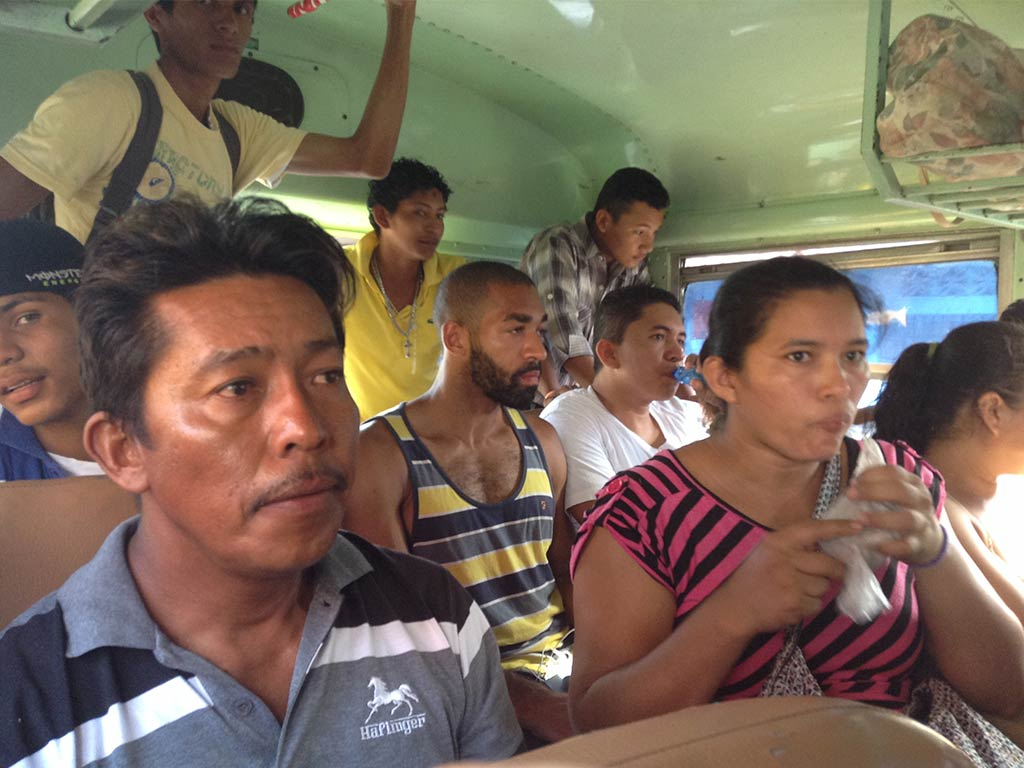 locals in nicaragua