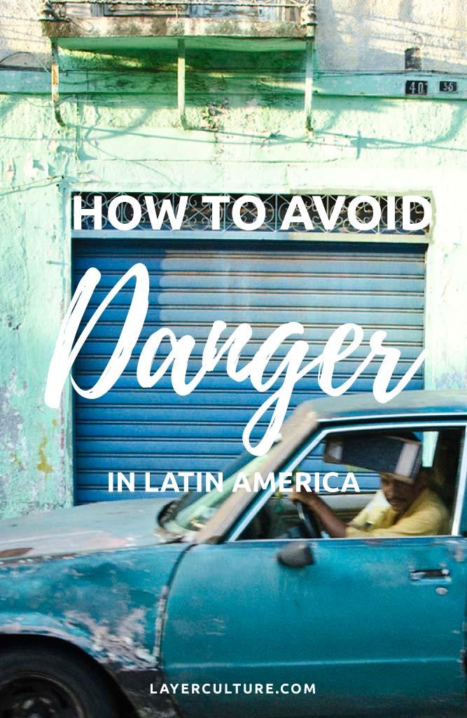 how to avoid danger