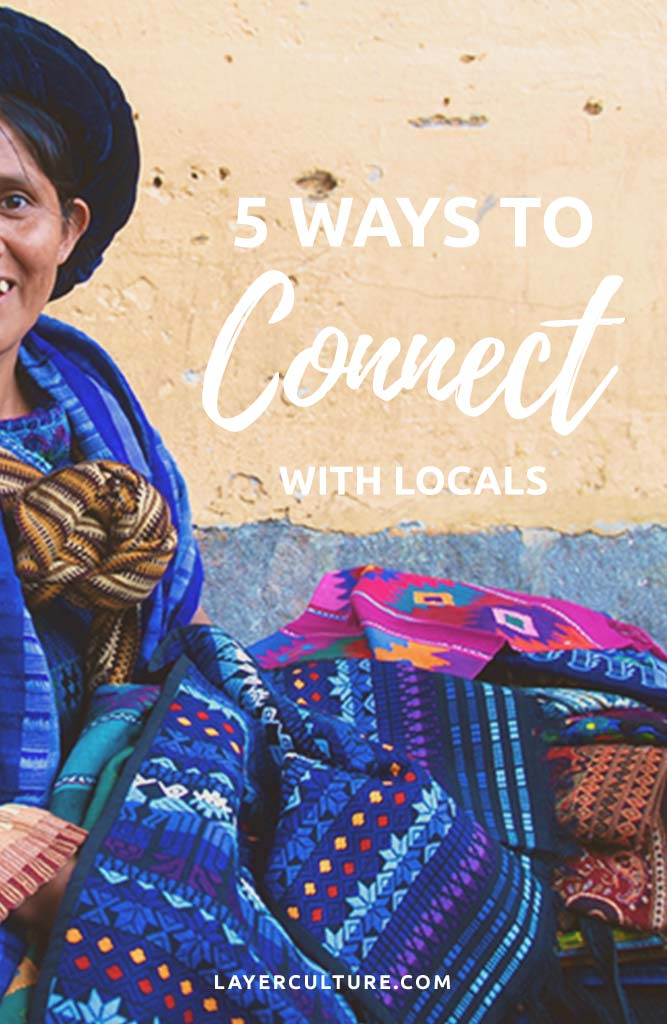 connect with locals
