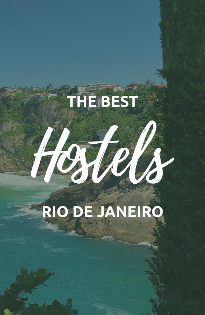 best hostels in rio de janeiro