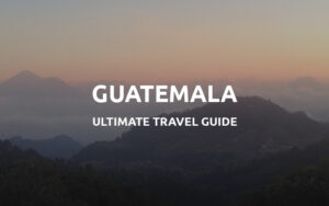 backpacking guatemala