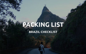 brazil packing list