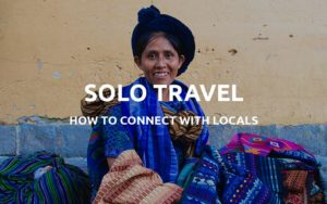 meet locals while traveling