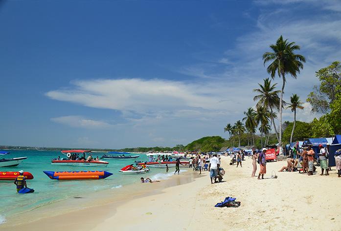 colombia travel guide playa baru