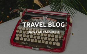 first travel blog