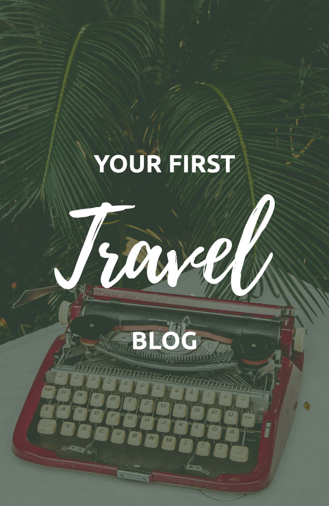 setting up a personal travel blog