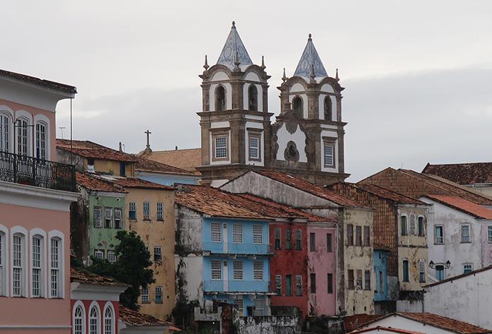 pelourinho district buildings