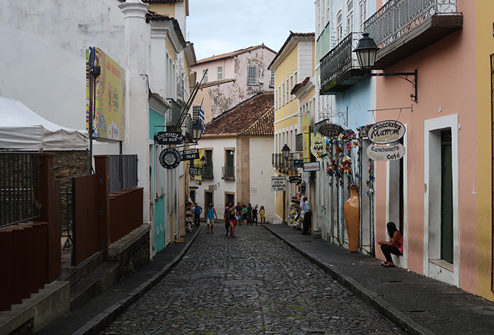 pelourinho district salvador brazil