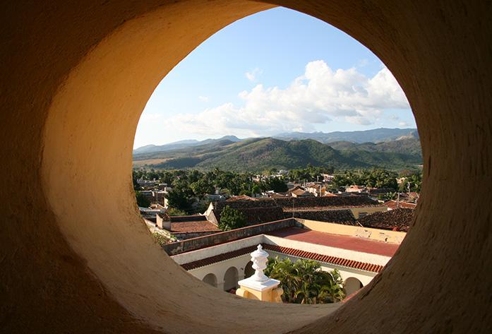 bell tower trinidad cuba