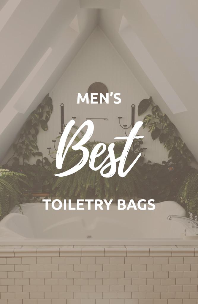 mens toiletry bag