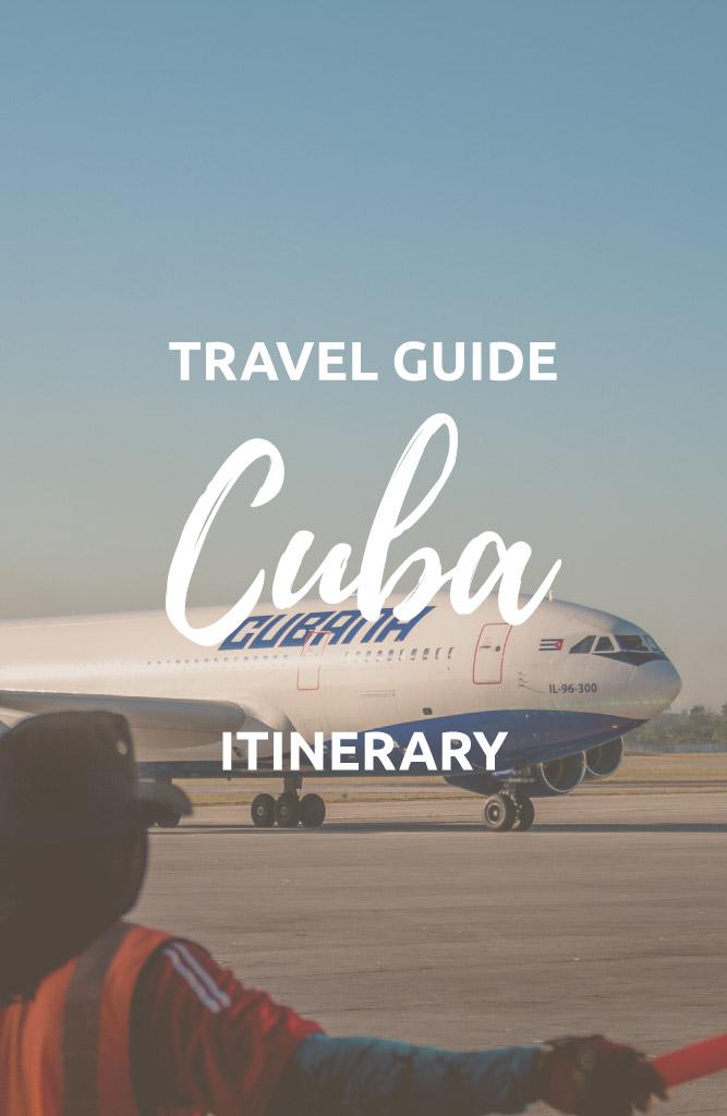 plan a trip to cuba