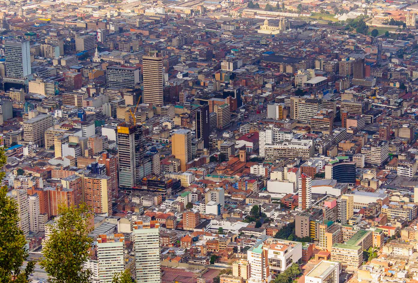 places to see in bogota