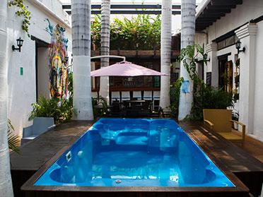 best hostels in Santa Marta Colombia