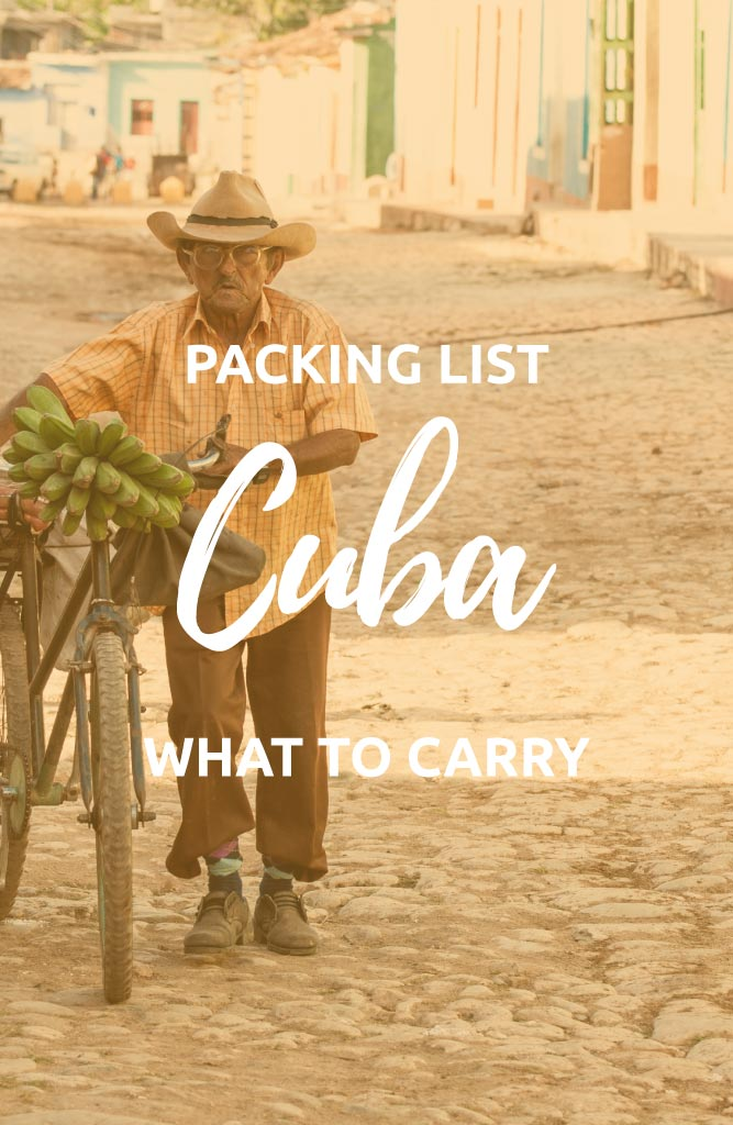 what to pack for cuba trip
