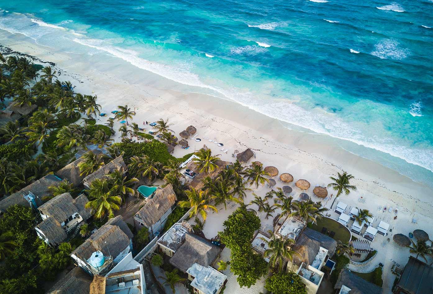 best  hostels tulum beach view