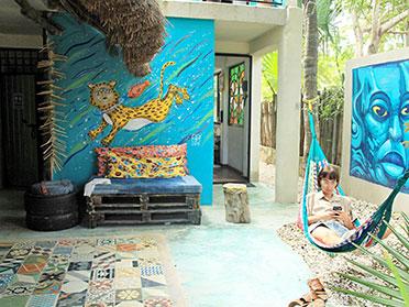 best hostels tulum mexico