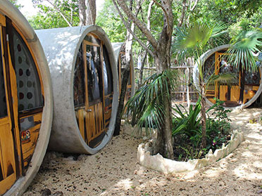 hostel in tulum