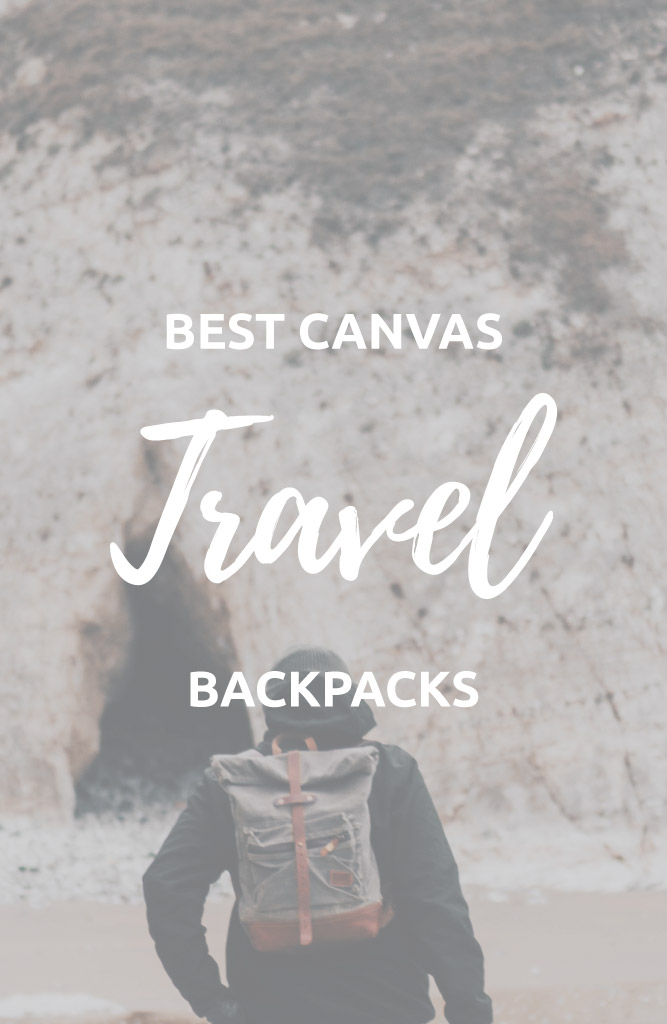 best canvas backpack