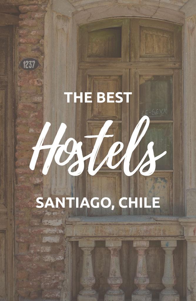 santiago best hostels