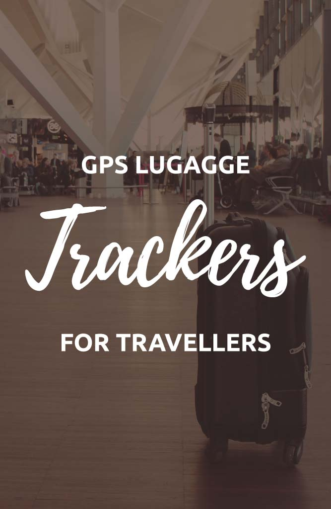 GPS luggage tracker