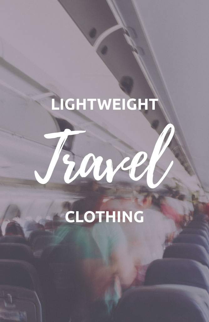 lightweight travel clothing for hot climates
