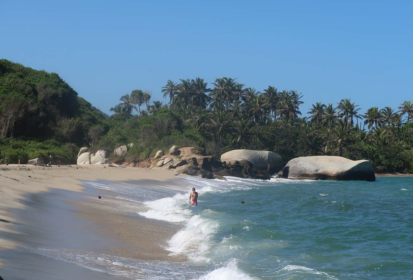 tayrona national beach