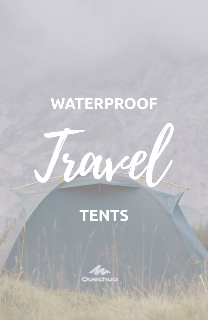 waterproof tents for backpacking