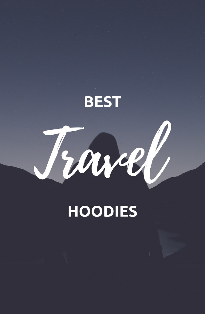 travel hoodie with pockets