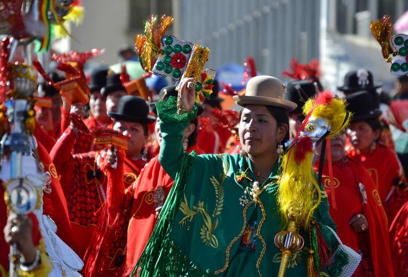 bolivian dance culture