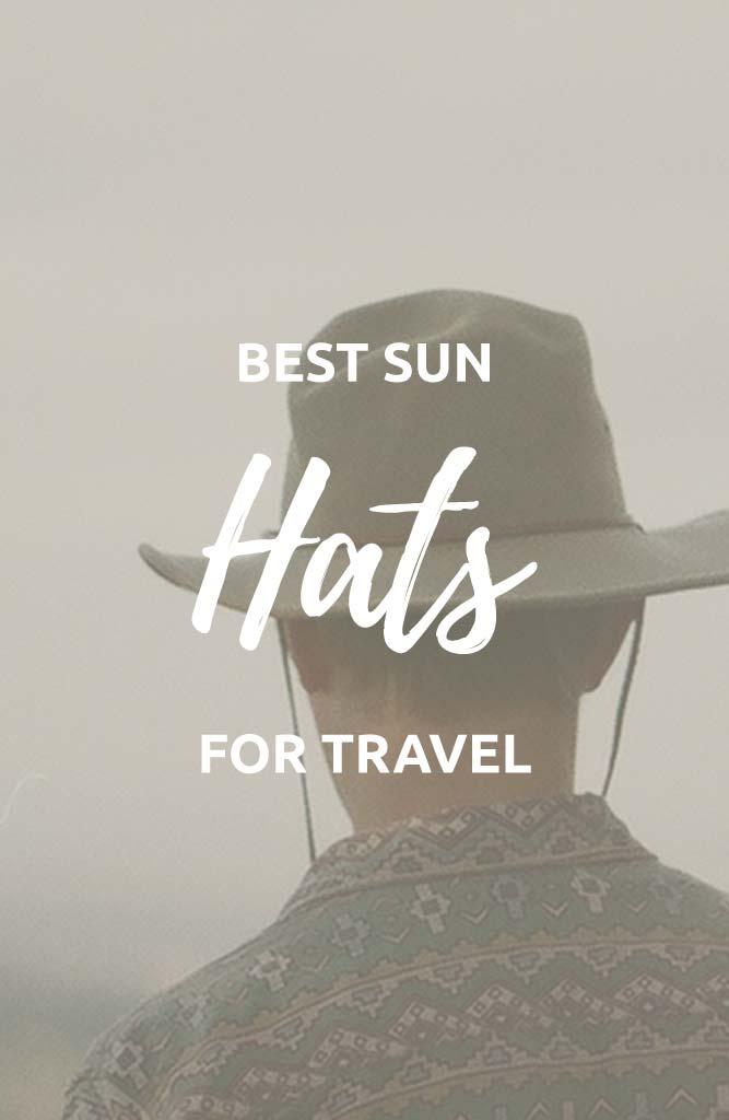 best uv sun hats for travel
