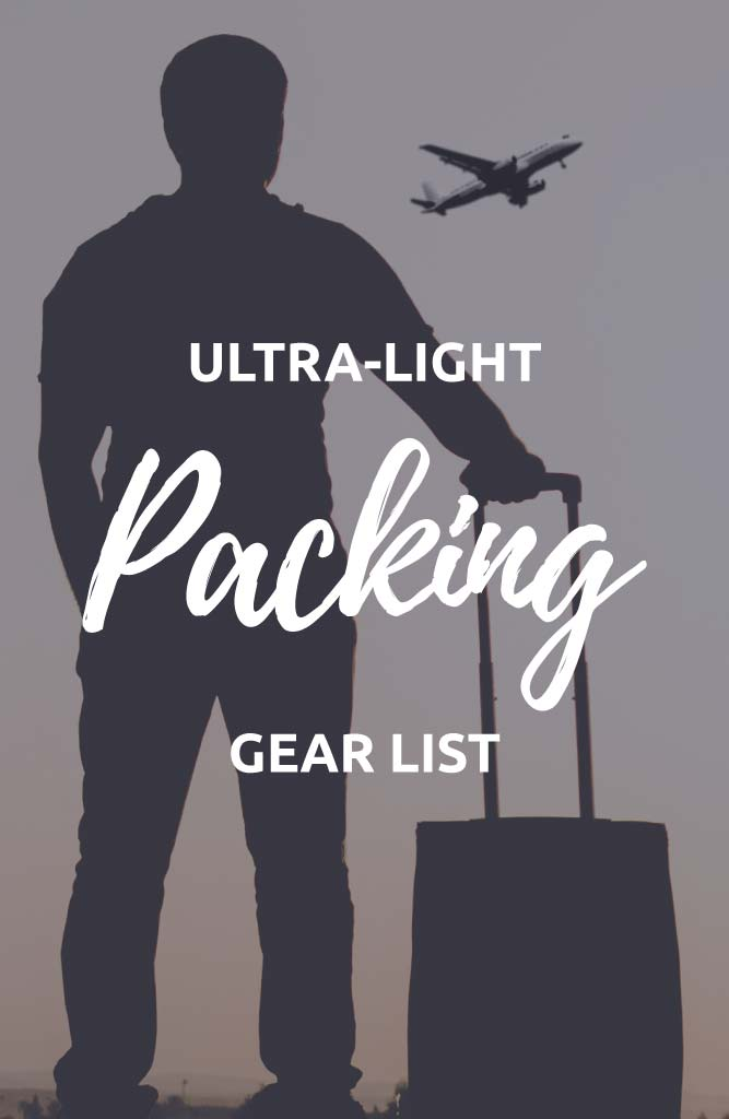 ultralight backpacking gear