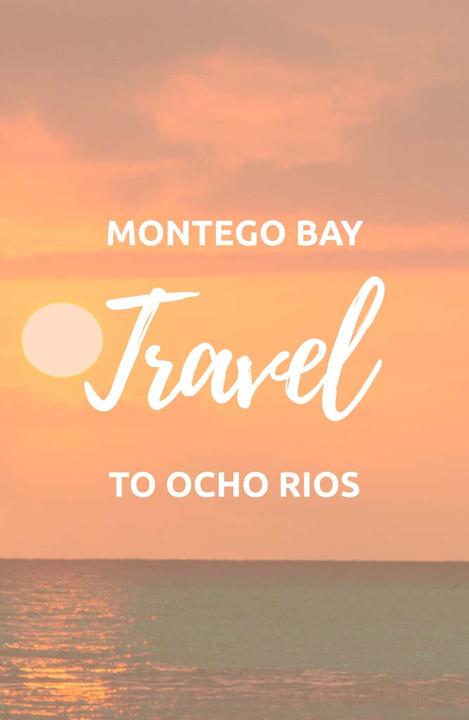 montego bay to ocho rios