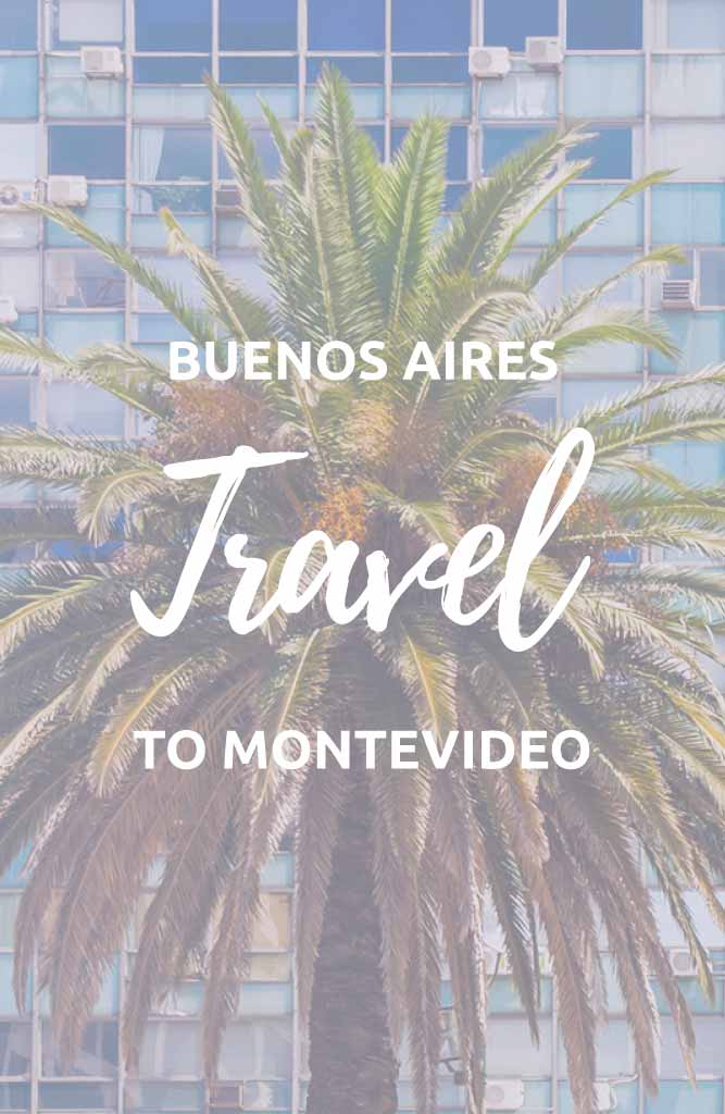 buenos aires to montevideo