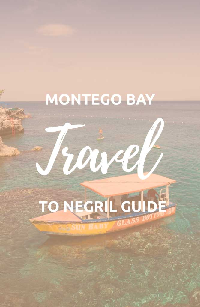 montego bay to negril jamaica