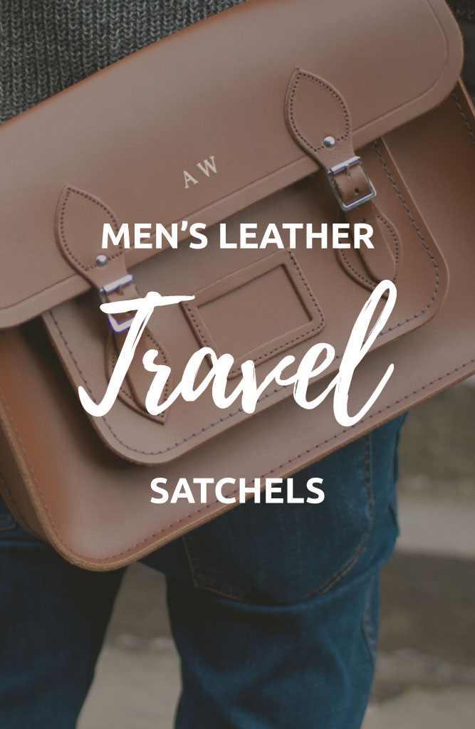 leather satchel mens