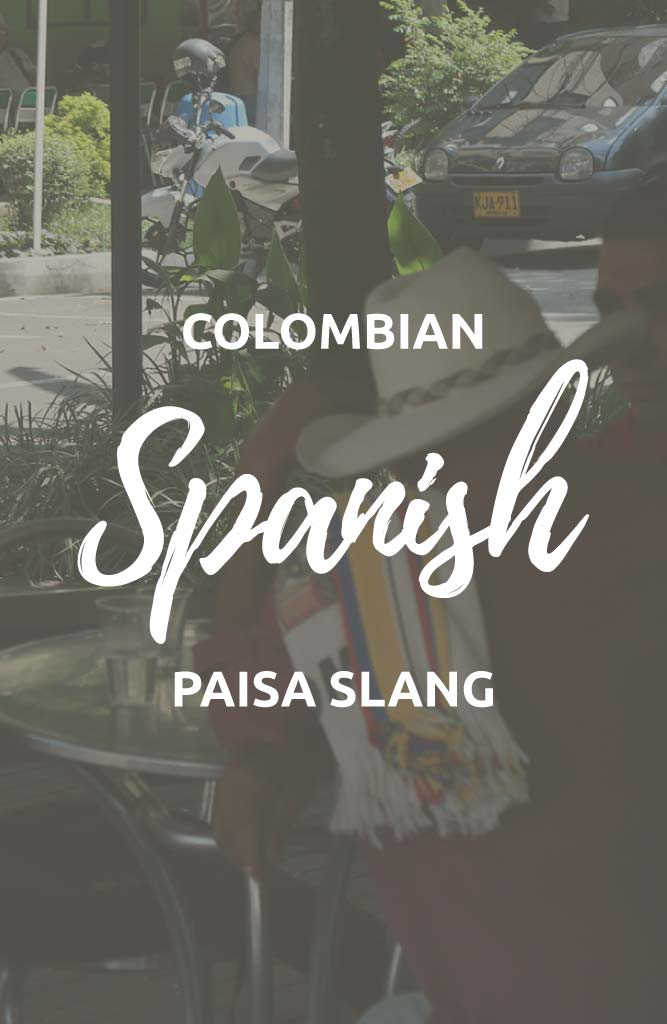 colombiam slang words