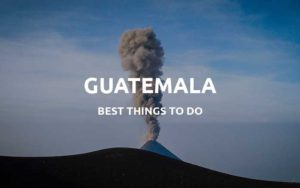 guatemala things to do