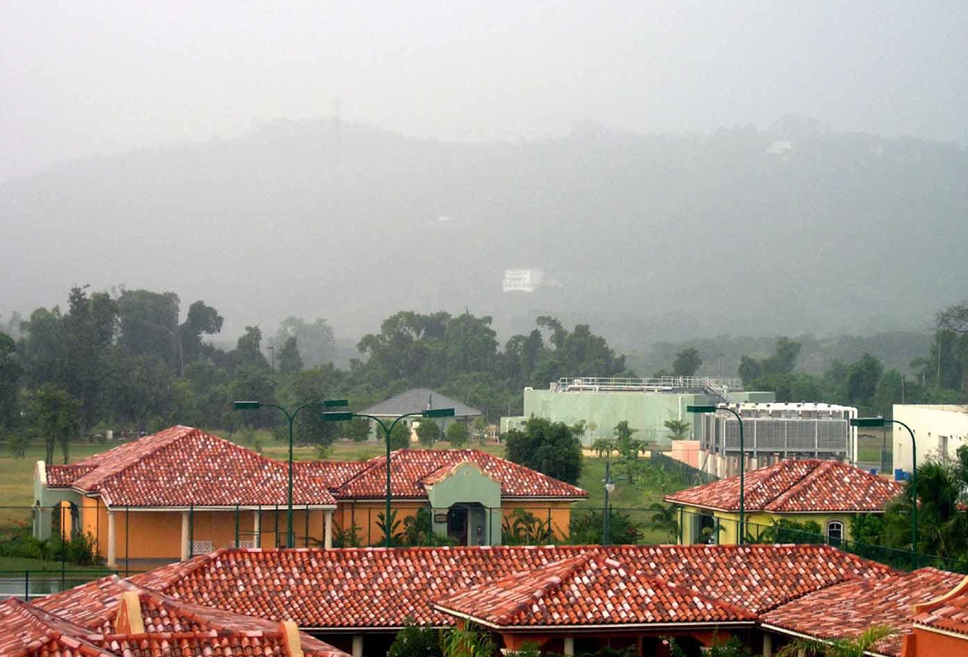 storm in jamaica