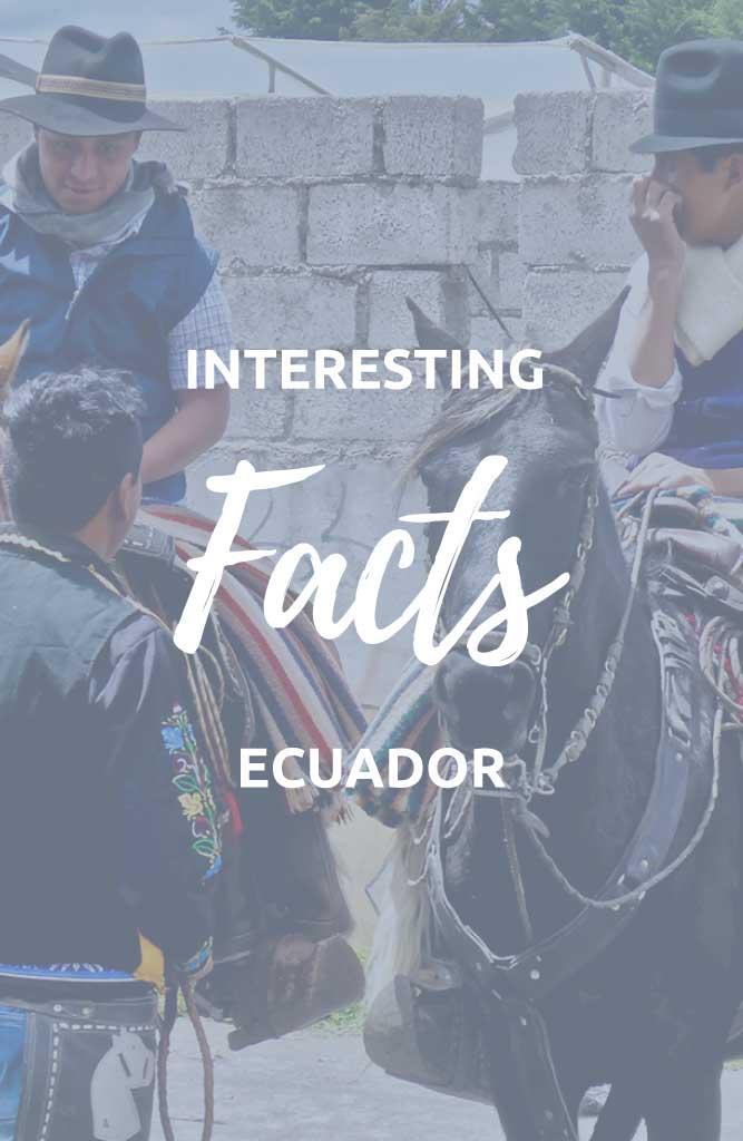 facts about ecuador