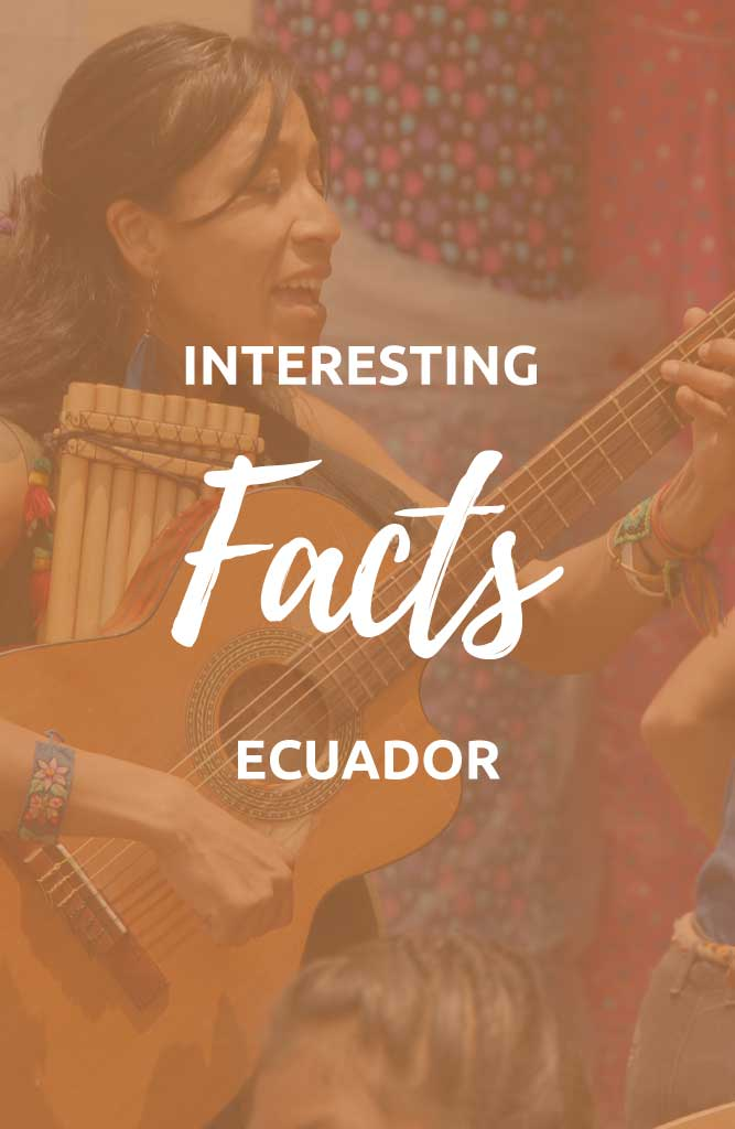 interesting facts about ecuador