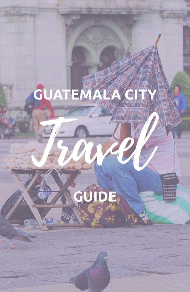 backpacking guatemala city