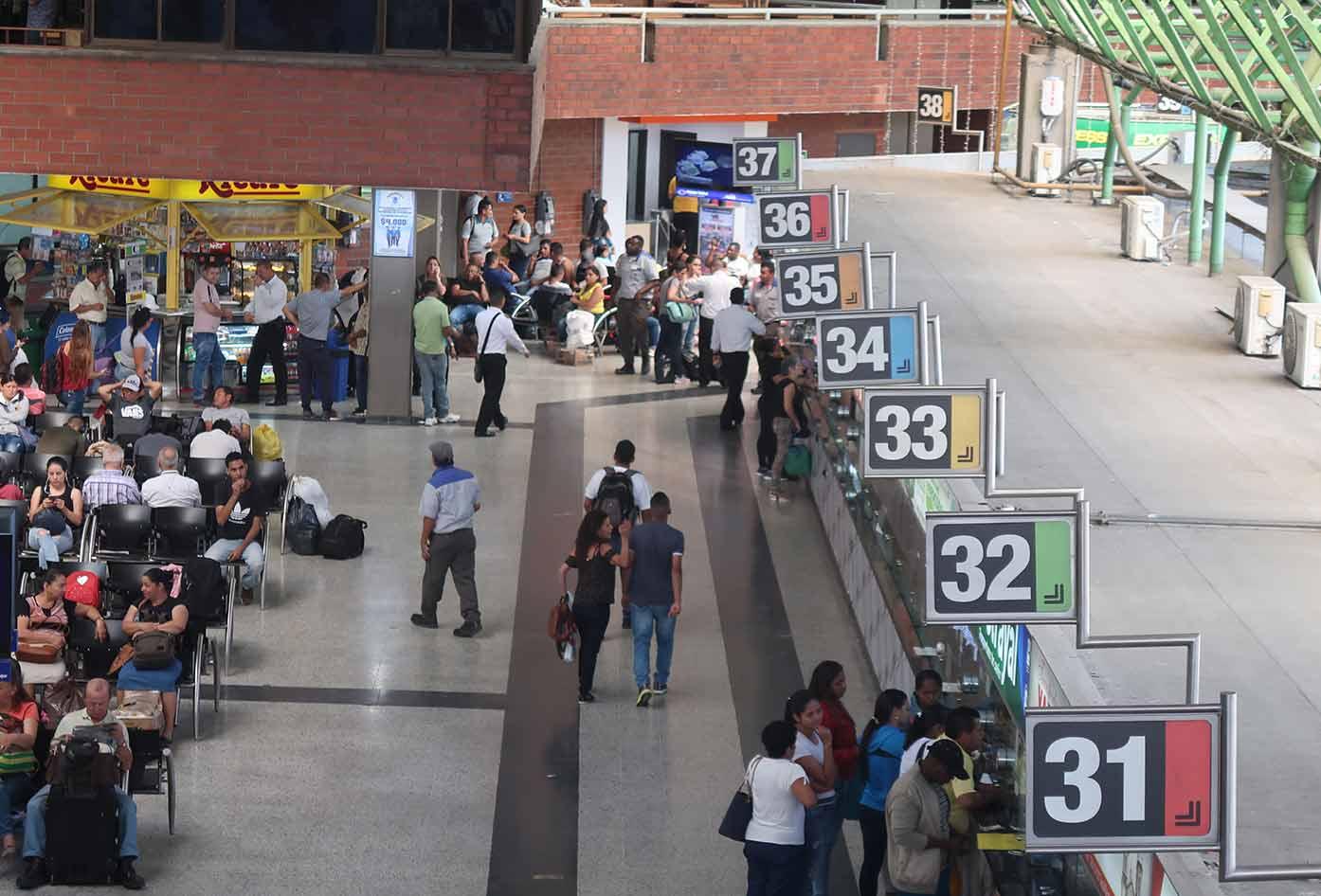 medellin bus station