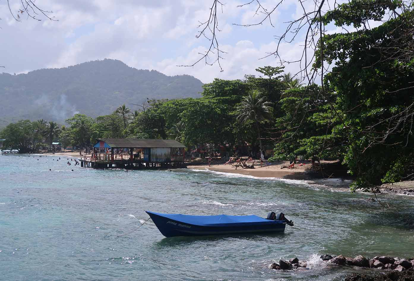 beach in choco colombia