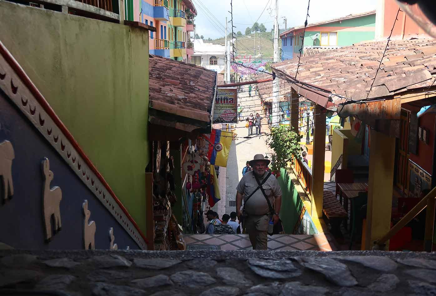 exploring guatape