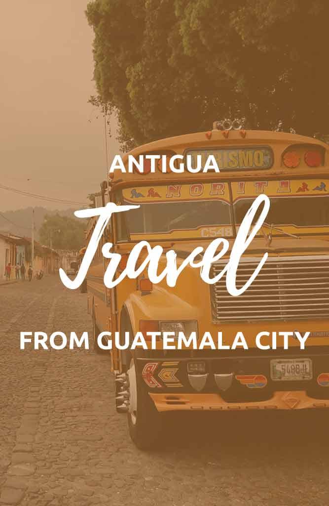 guatemala city to antigua