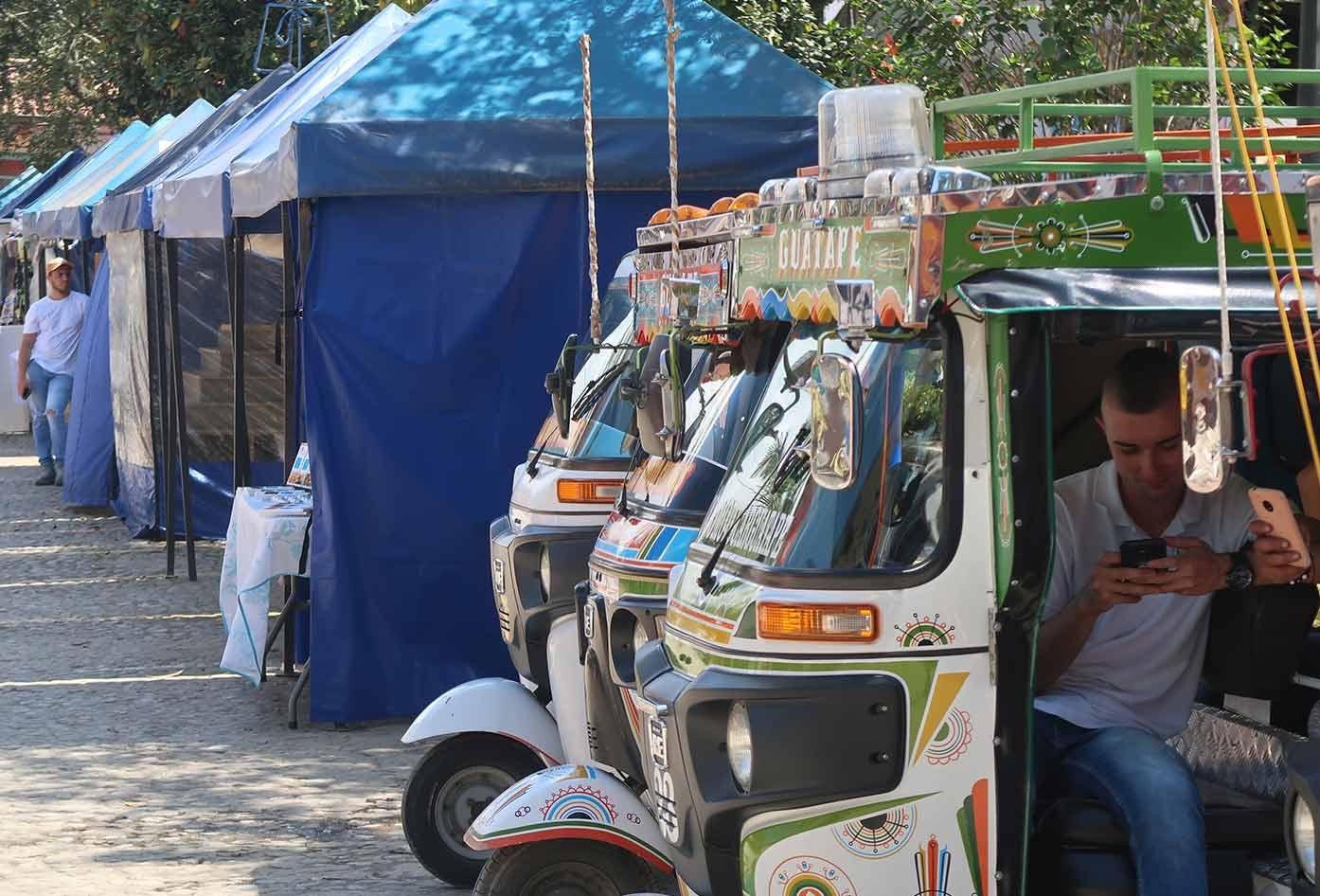 moto taxi guatape