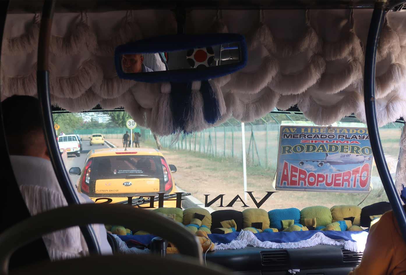 bus from santa marta to minca