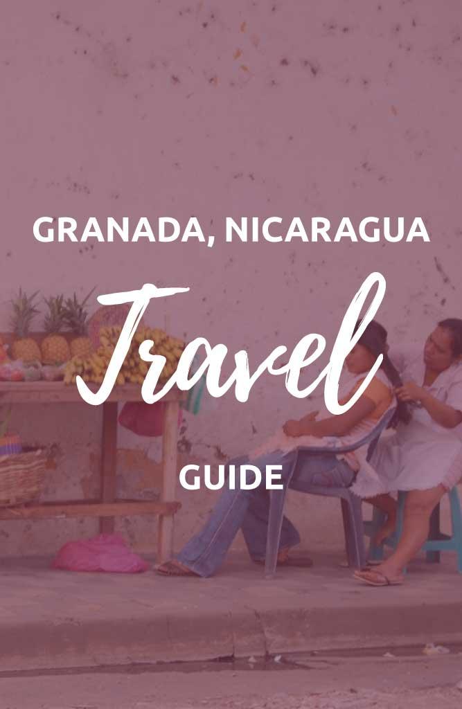 backpacking granada nicaragua