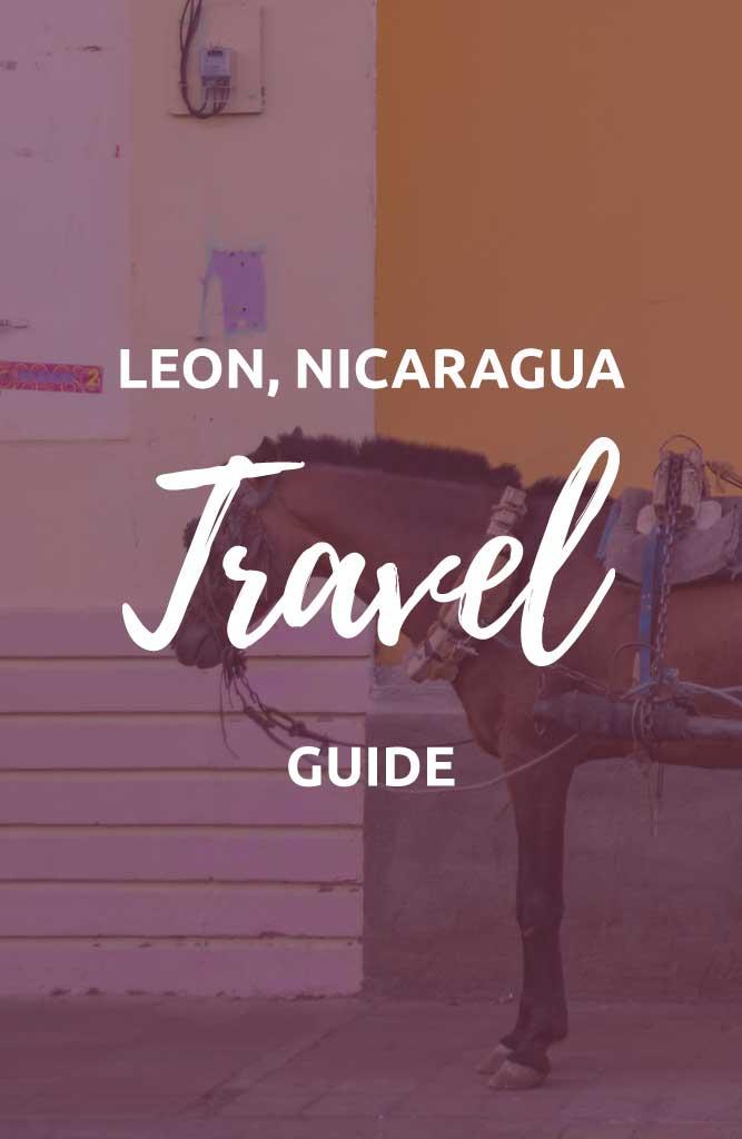 backpacking leon nicaragua