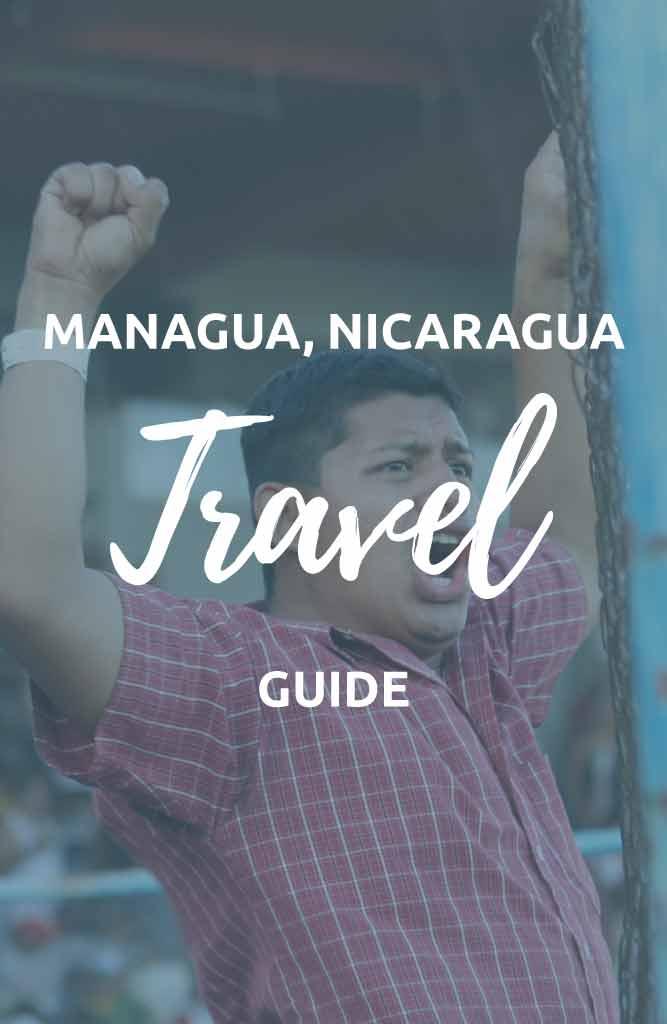 backpacking managua nicaragua